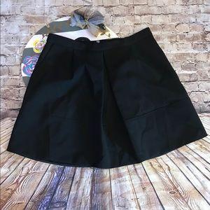 J.Crew pleat front mini skirt